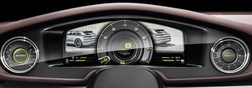 Panamera speedometer