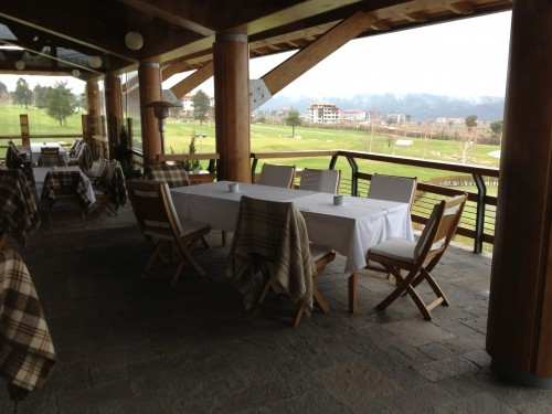 Terrace at Pirin golf club