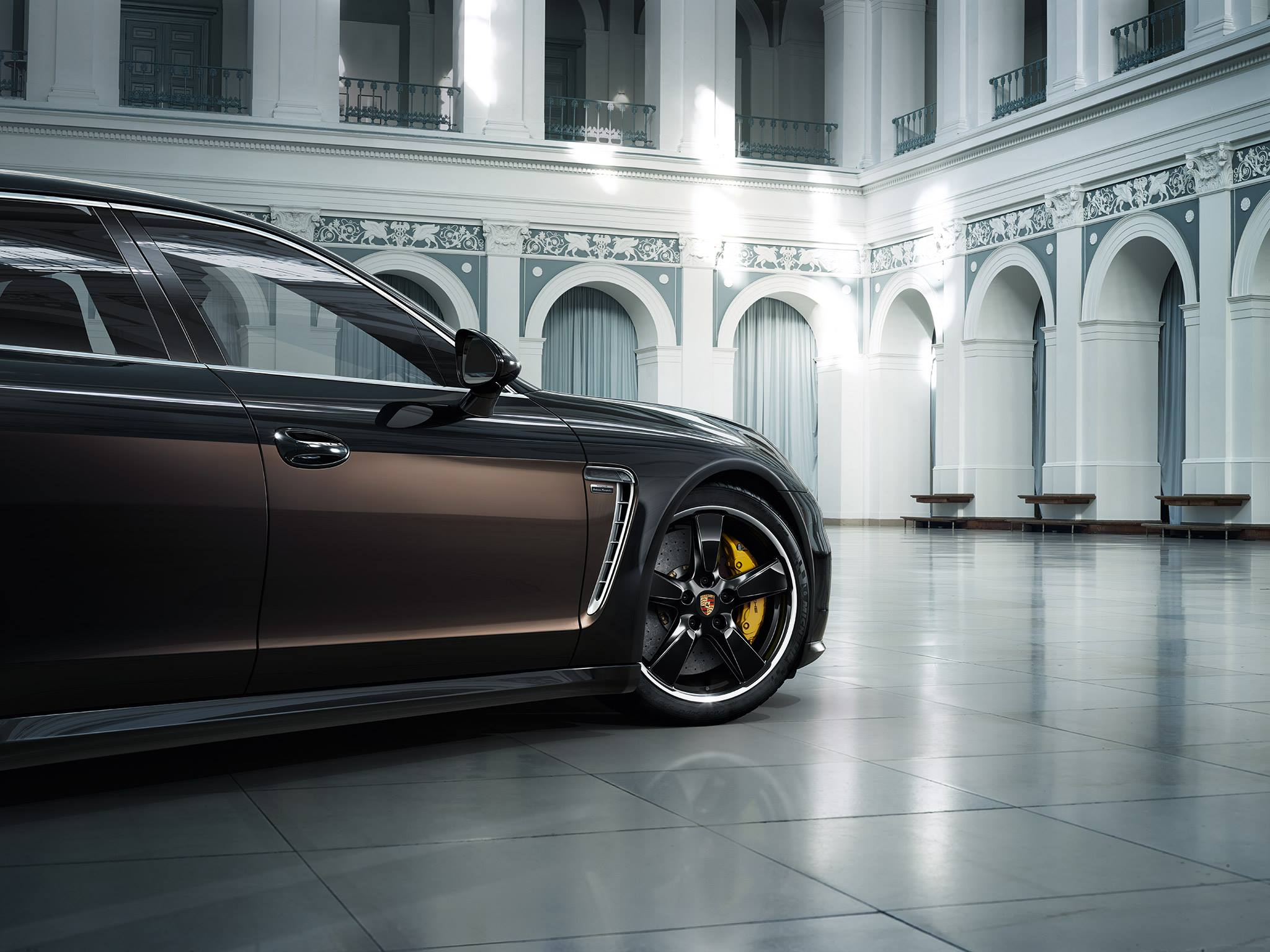 Panamera Exclusive is one the first instagram photos